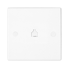 Flush Dimmers, Communication Outlet and Connection