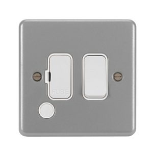 Metalclad Grey 13A Fused Connection Units