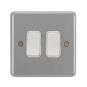 Metalclad Grey Wall switches