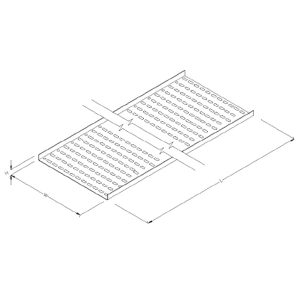 Steel Perforated Cable Tray- Straight