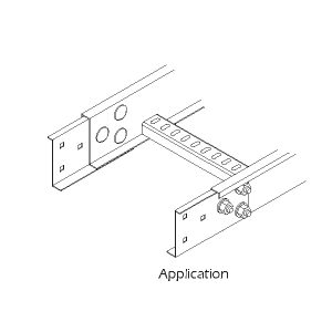Steel Cable Ladder – Horizontal Splice Plate