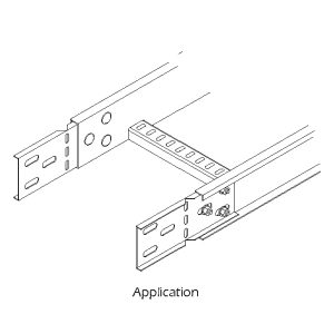 Steel Cable Ladder – Horizontal Adjustable Splice Plate