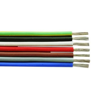 Silicone insulated wires SiF